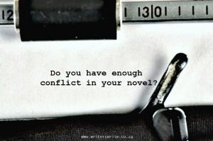enough conflict